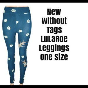 Owl Print LuLaRoe Leggings One Size